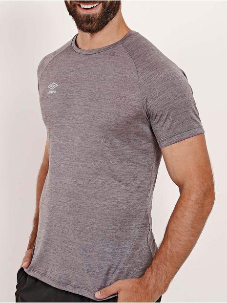 Camiseta-Esportiva-Umbro-Twr-Flat-New-Masculina-Grafite-Mescla-P