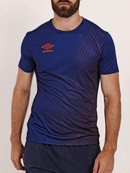 Camiseta-Esportiva-Umbro-TWR-Graphic-Velocita-Masculina-Azul-Marinho