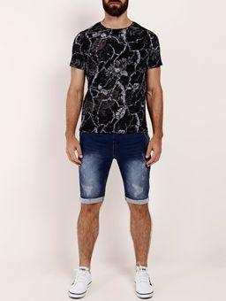 Bermuda-Jeans-Moletom-Masculina-Azul