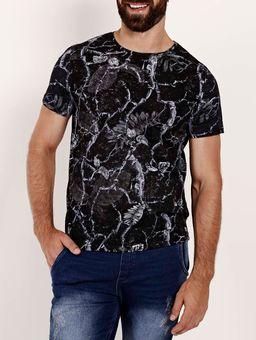 Camiseta-Estampada-Manga-Curta-Masculina-Preto-cinza