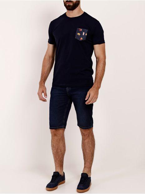 Bermuda-Jeans-Moletom-Cook's-Masculina-Azul