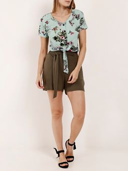 Camisa-Cropped-Manga-Curta-Feminina-Verde-P