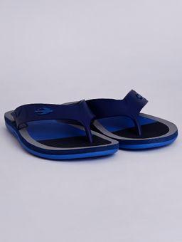 Chinelo-Masculino-Mormaii-Quiver-Ii-Azul-cinza-37-38