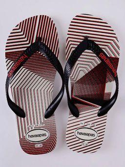 Chinelo-Masculino-Havaianas-Trend-Branco-preto-38