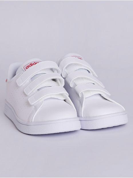 Tenis-Adidas-Advantage-Infantil-Para-Menina---Branco-rosa-26