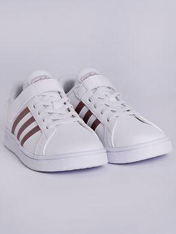 Tenis-Adidas-Grand-Court-Infantil-Para-Menina---Branco-rosa-26