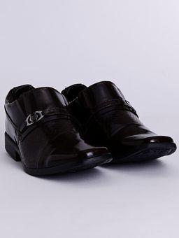 Sapato-Casual-Texturizado-Eletron-Masculino-Marrom-Escuro