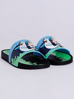 Chinelo-Slide-Luccas-Neto-Infantil-Para-Menino---Preto-azul-verde-25
