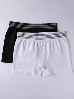 Kit-com-2-Cuecas-Boxer-Masculinas-Branco-preto