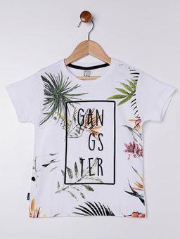 Camiseta-Manga-Curta-Gangster-Infantil-Para-Menino---Branco-6
