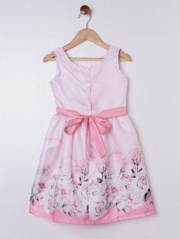 Vestido-Floral-Infantil-para-Menina---Rosa