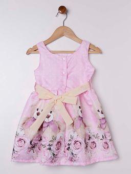 Vestido-Tecido-Plano-Infantil-para-Menina---Rosa