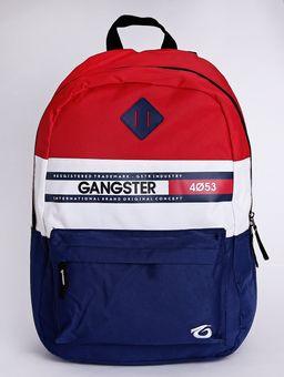Mochila-Gangster-Masculina-Vermelho-azul-Marinho