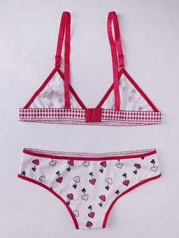 Conjunto-de-Lingerie-Sem-Bojo-Infantil-para-Menina---Branco-rosa-P