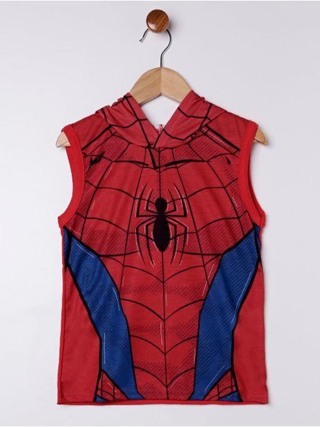 Camiseta-Regata-Spider-Man-Infantil-Para-Menino---Vermelho-6