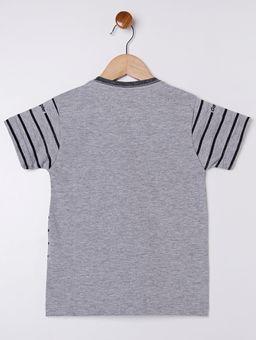 Camiseta-com-Bolso-Gangster-Infantil-para-Menino---Cinza