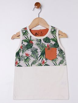 Camiseta-Regata-Infantil-Para-Menino---Off-White-laranja-1