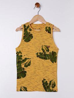 Camiseta-Regata-Infantil-Para-Menino---Amarelo-6
