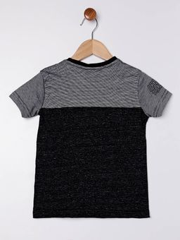 Camiseta-Manga-Curta-Infantil-Para-Menino---Preto-cinza-6