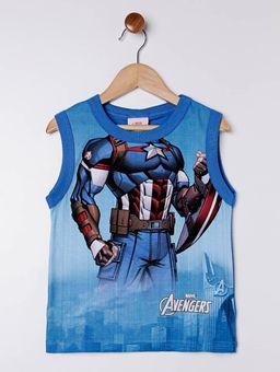 Camiseta-Regata-Avengers-Infantil-Para-Menino---Azul-