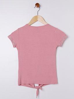 Blusa-Malha-Manga-Curta-Juvenil-para-Menina---Rosa-