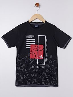 Camiseta-Manga-Curta-Juvenil-Para-Menino---Preto-10