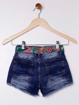 Short-Jeans-com-Faixa-Juvenil-para-Menina---Azul