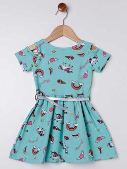 Vestido-Cotton-Infantil-para-Menina---Verde
