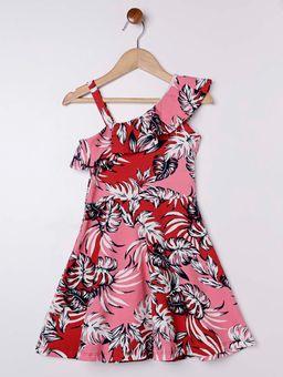 Vestido-Estampado-Infantil-para-Menina---Vermelho-