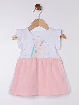 Vestido-Infantil-Para-Bebe-Menina---Branco-salmao