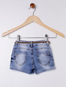 Short-Saia-Jeans-com-Cinto-Infantil-para-Menina--Azul