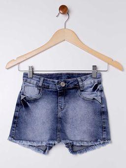 Short-Saia-Jeans-Juvenil-para-Menina---Azul