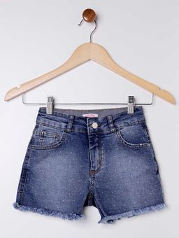 Short-Jeans-Barra-Desfiada-Juvenil-para-Menina---Azul-