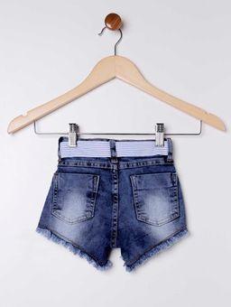 Short-Jeans-com-Cinto-Faixa-Infantil-para-Menina---Azul-