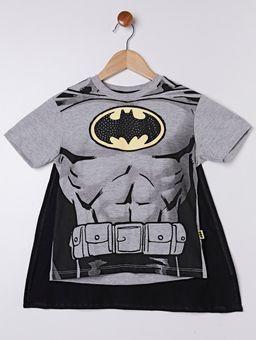 Camiseta-Manga-Curta-Batman-Infantil-Para-Menino---Cinza-preto-6