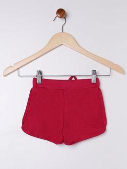 Short-Moletinho-Infantil-para-Menina---Rosa-Pink