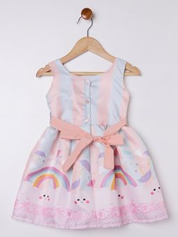 Vestido-Infantil-Para-Menina---Salmao-azul-1