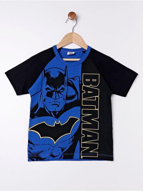 Camiseta-Batman-com-Mascara-Infantil-para-Menino---Preto-azul