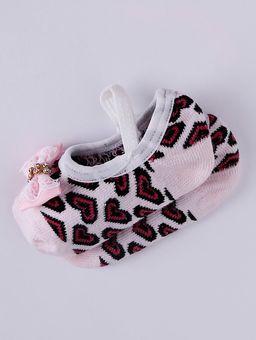 Kit-Meia-com-Faixa-Infantil-para-Bebe-Menina---Rosa