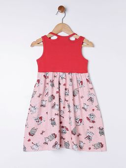 Vestido-Evase-Infantil-para-Menina---Vermelho