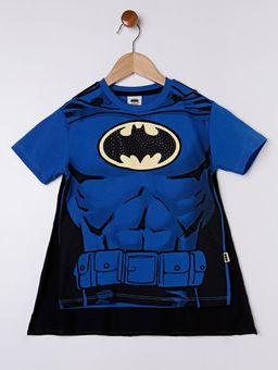 Camiseta-Manga-Curta-Batman-com-Capa-Infantil-para-Menino---Azul-