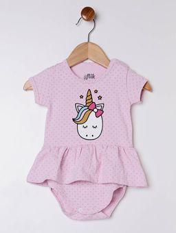 Vestido-com-Faixa-Flik-Infantil-para-Bebe-Menina---Rosa