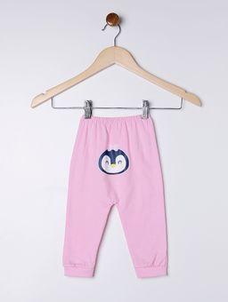 Kit-Pijama-Ceroula-Infantil-para-Bebe-Menina---Cinza-branco-rosa