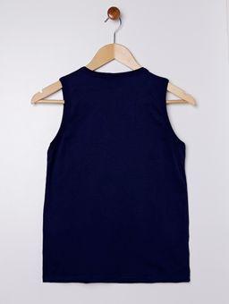 Camiseta-Regata-Juvenil-Para-Menino---Azul-Marinho-