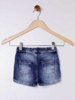 Short-Jeans-PimPom-Infantil-para-Menina---Azul