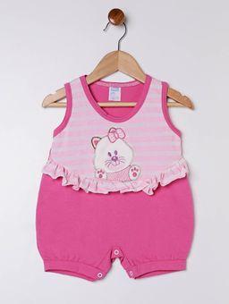 Macaquinho-Infantil-para-Bebe-Menina---Rosa
