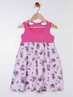 Vestido-Evase-Infantil-para-Menina---Rosa
