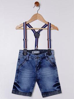 Bermuda-Jeans-com-Suspensorio-Infantil-para-Menino---Azul