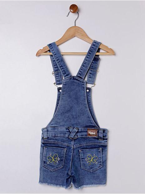 Macacao-Jardineira-Short-Infantil-para-Menina---Azul