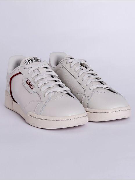Tenis-Casual-Masculino-Adidas-Roguera-Off-White-vermelho-38